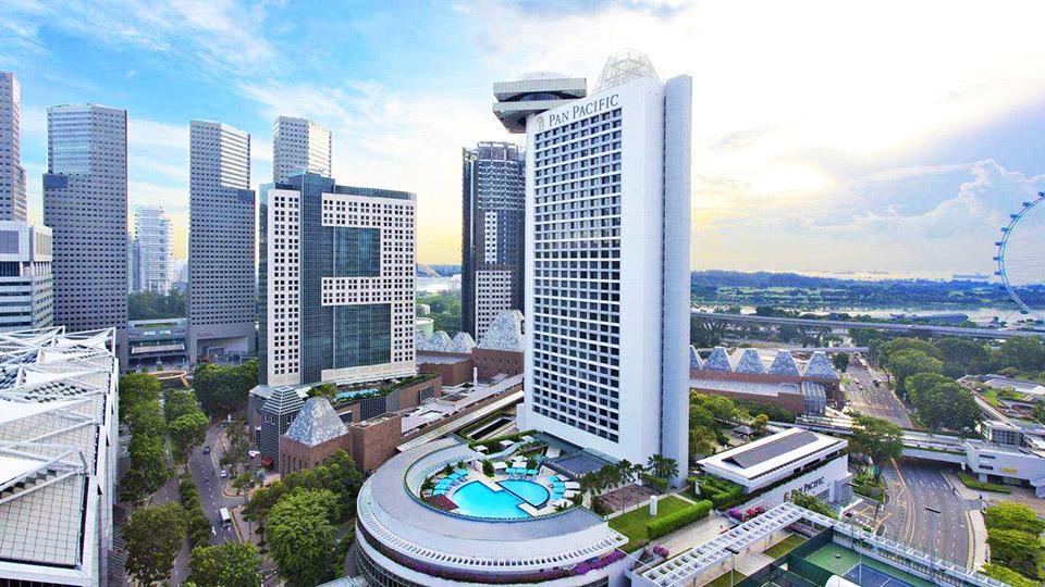 新加坡泛太平洋酒店门窗工程案例-楼上楼门窗