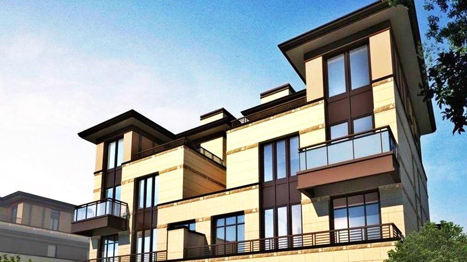 江西赣州嘉和半岛别墅门窗工程案例-楼上楼门窗
