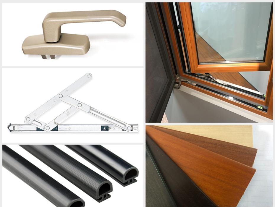 楼上楼健康低碳铝木系统门窗