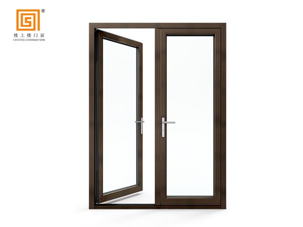 LSL68附框式低碳铝木平开门