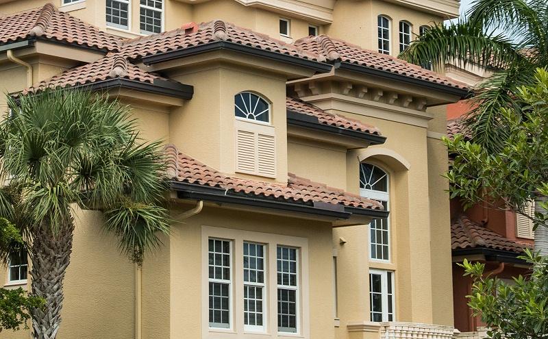 楼上楼门窗-高端别墅门窗工程项目