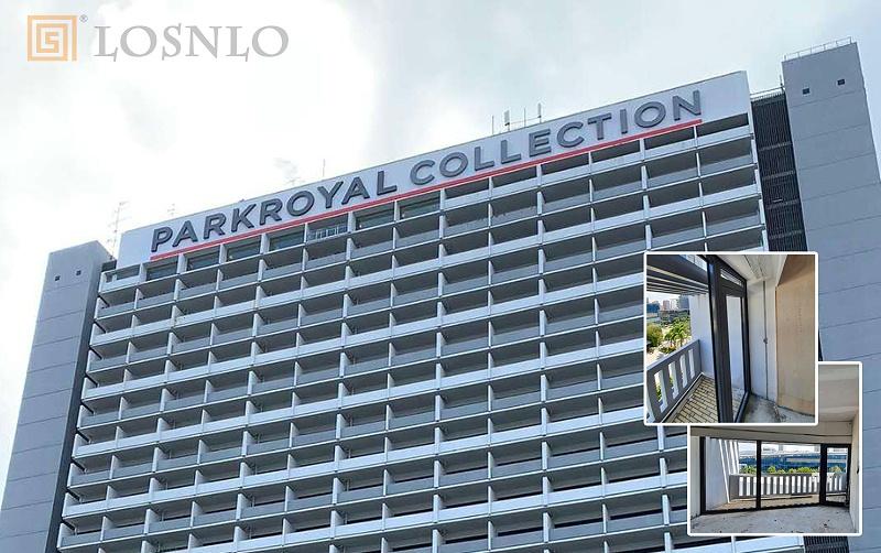 楼上楼门窗-新加坡酒店门窗工程