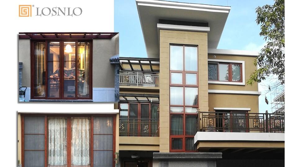 海南苏总私人高端别墅门窗工程案例-楼上楼门窗