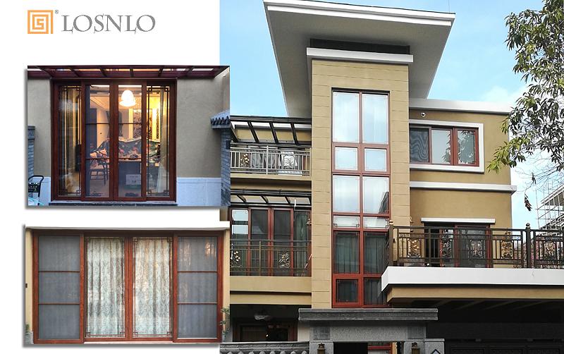 楼上楼门窗-私人别墅门窗工程案例