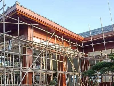楼上楼-海南日式会所施工现场