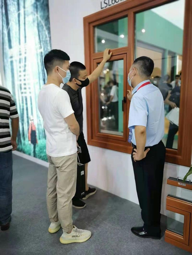 2021广州建博会   楼上楼健康铝木系统门窗精彩回顾!