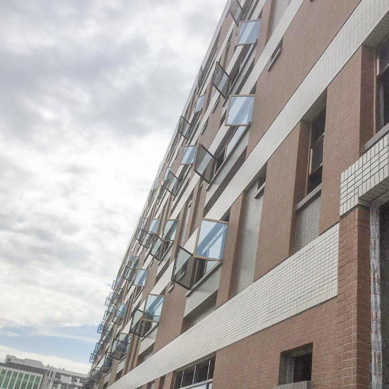 楼上楼门窗-高端门窗工程案例-长安oppo工业园