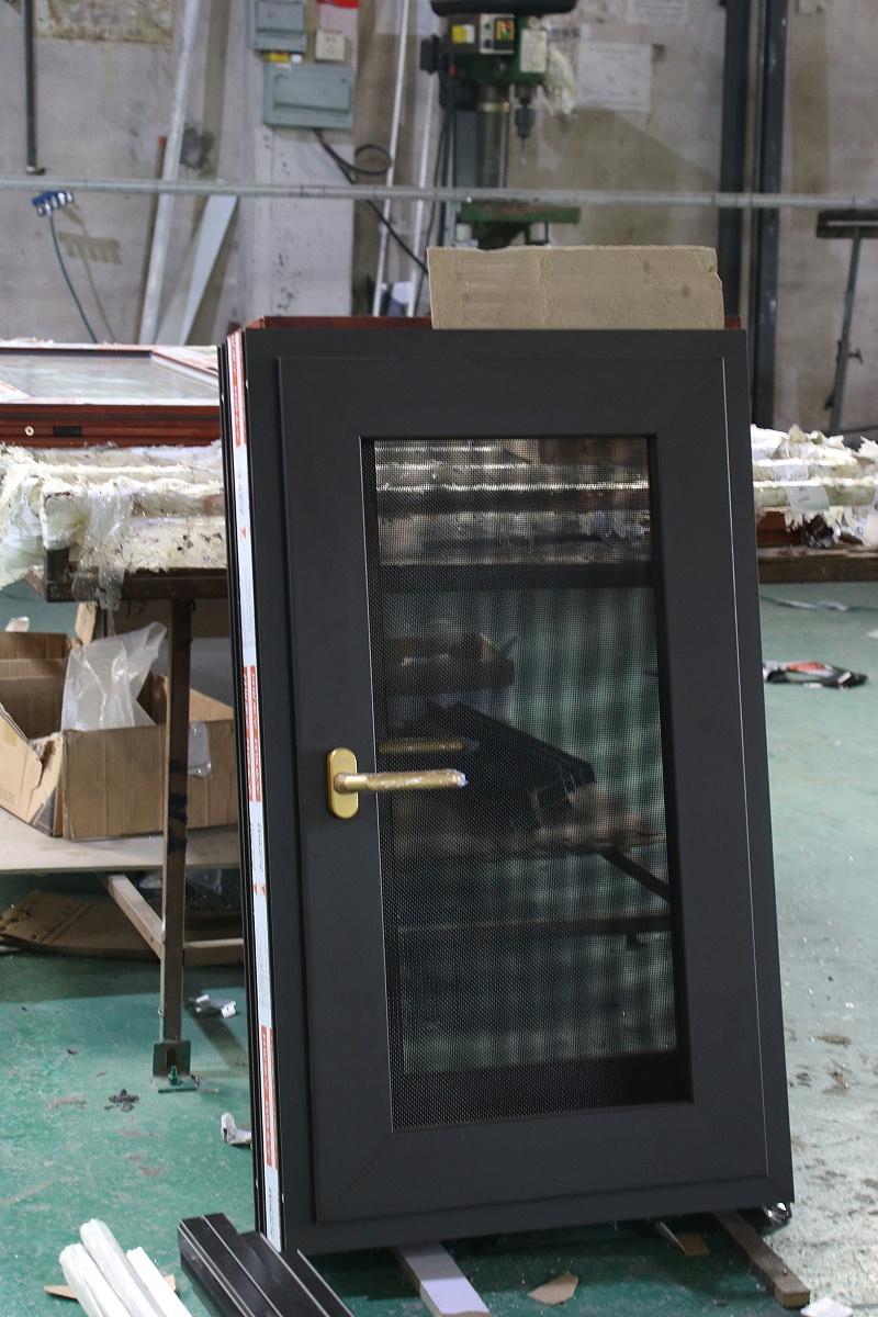 楼上楼门窗-工程门窗窗纱一体成品